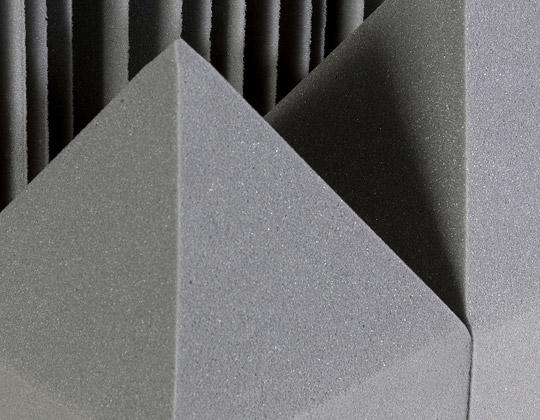 Foam for sound dampening